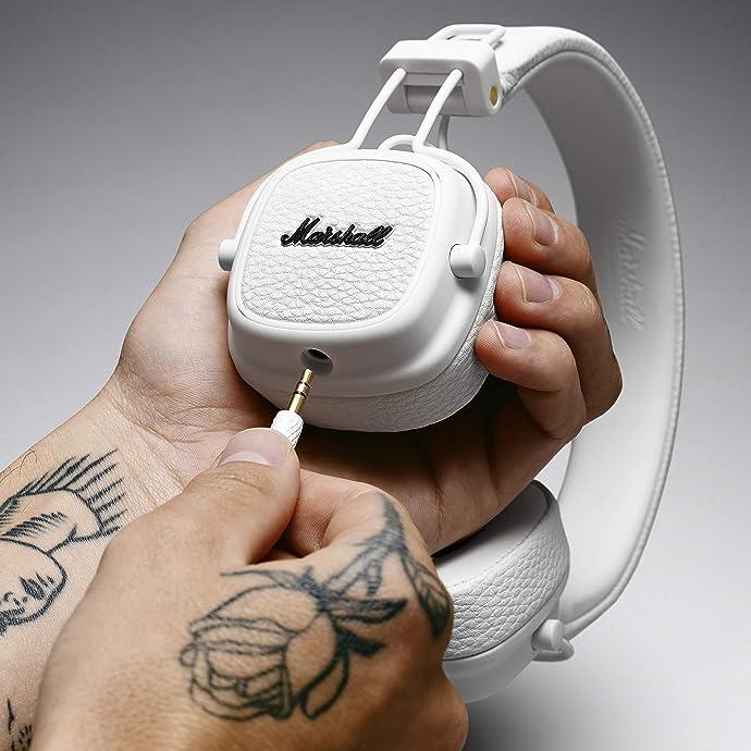 Marshall 马歇尔 Major III 头戴耳机 6.2折$49.99 三色可选 海淘转运到手约¥374 中亚Prime会员免运费直邮到手约¥390