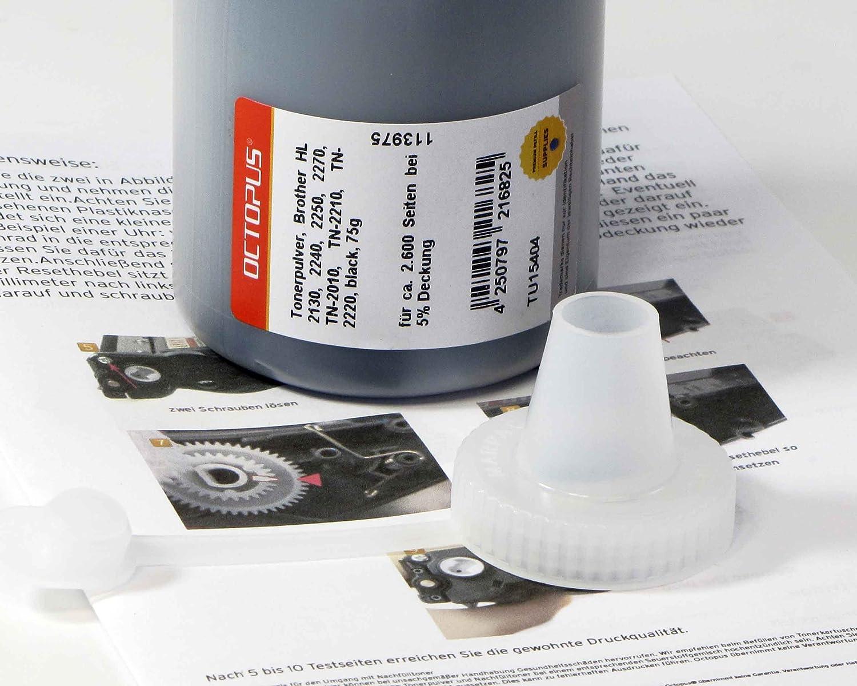 Octopus toner refill powder for Brother HL 2130, 2240, 2250, 2270 ...
