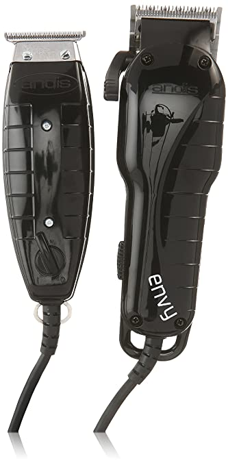 844f378aa Amazon.com : Andis Stylist Combo Envy Clipper + T-Outliner Trimmer Black  Combo Haircut Kit 66280 : Hair Cutting Kits : Beauty