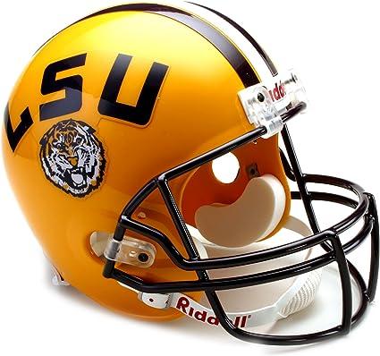 NCAA LSU Tigers Deluxe Replica Football Helmet
