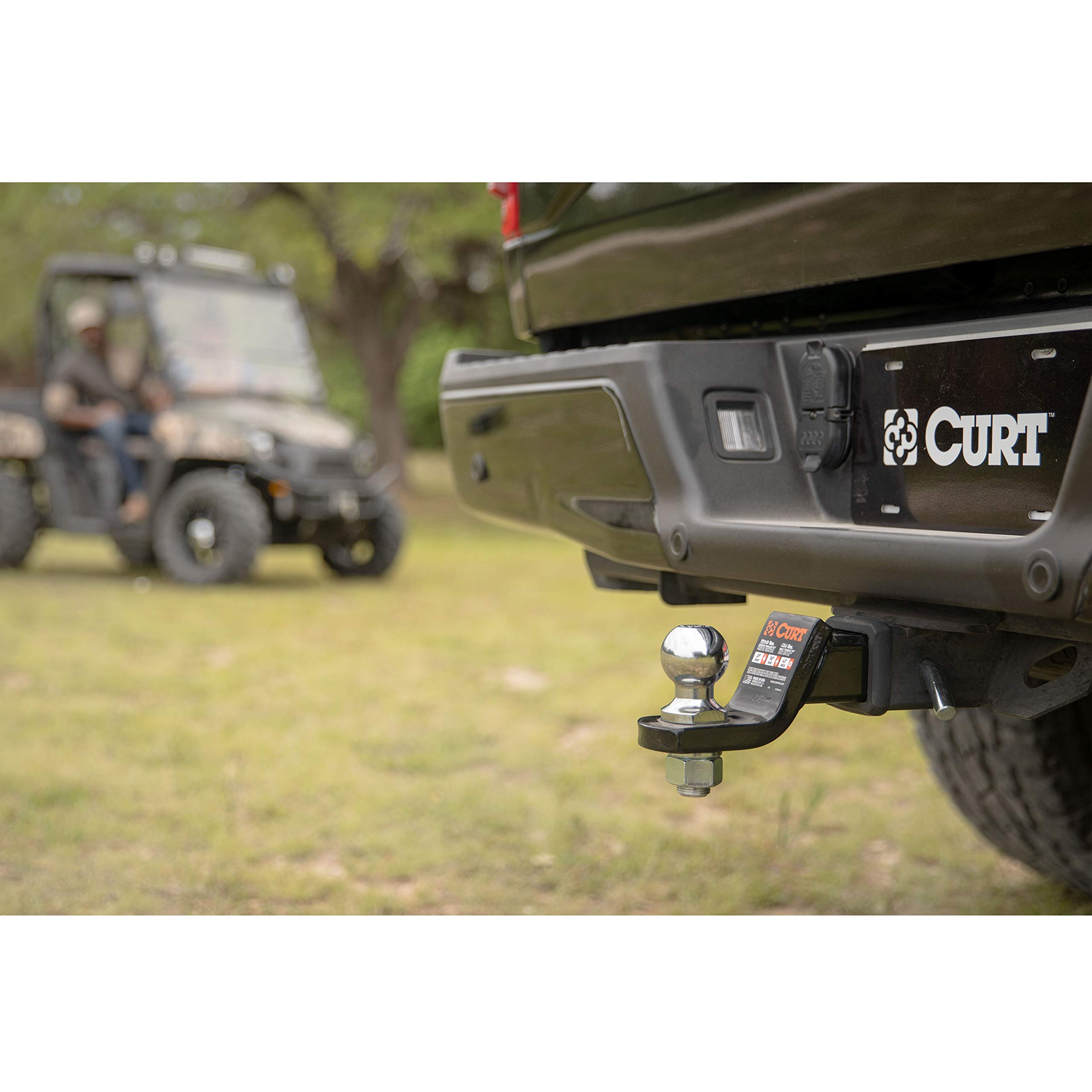 Capacity 8000 lb Reese Towpower 7033930 1-1//4 Chrome Class V Hitch Ball