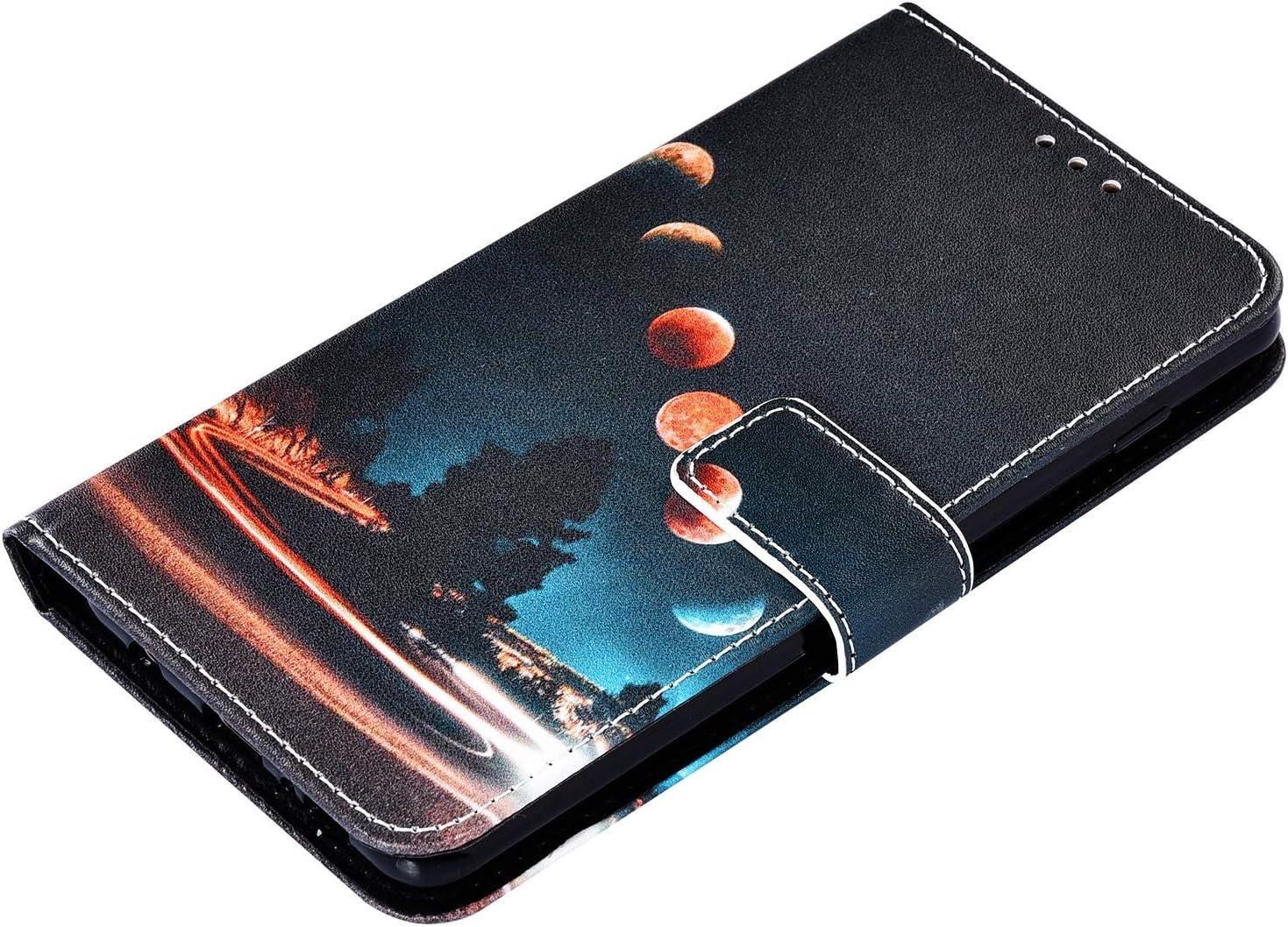 Samsung Galaxy S10e H/ülle Ledertasche Klappbar Brieftasche,3D Bunt Bemalt Muster PU Leder Handy Tasche Kartenf/ächer Handyh/ülle Schutzh/ülle Wallet Flip Case mit Standfunktion,Katze und Tiger