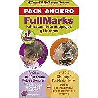 FullMarks Kit Tratamiento Antipiojos para Niños, Elimina los