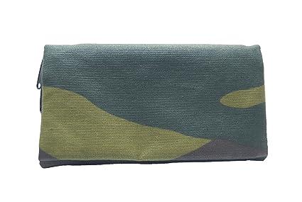 MONEDERO 15x8 DE TELA CON PROTECCIÓN RFID (ANTIHURTO) PARA PROTEGER TUS TARJETAS DE CRÉDITO. Plan B, Modelo RFID Militar - Cartera de diseño casual, ...