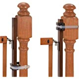 Summer Banister to Banister Universal Gate Mounting Kit – Fits Round or Square Banisters, Accommodates Most Hardware…