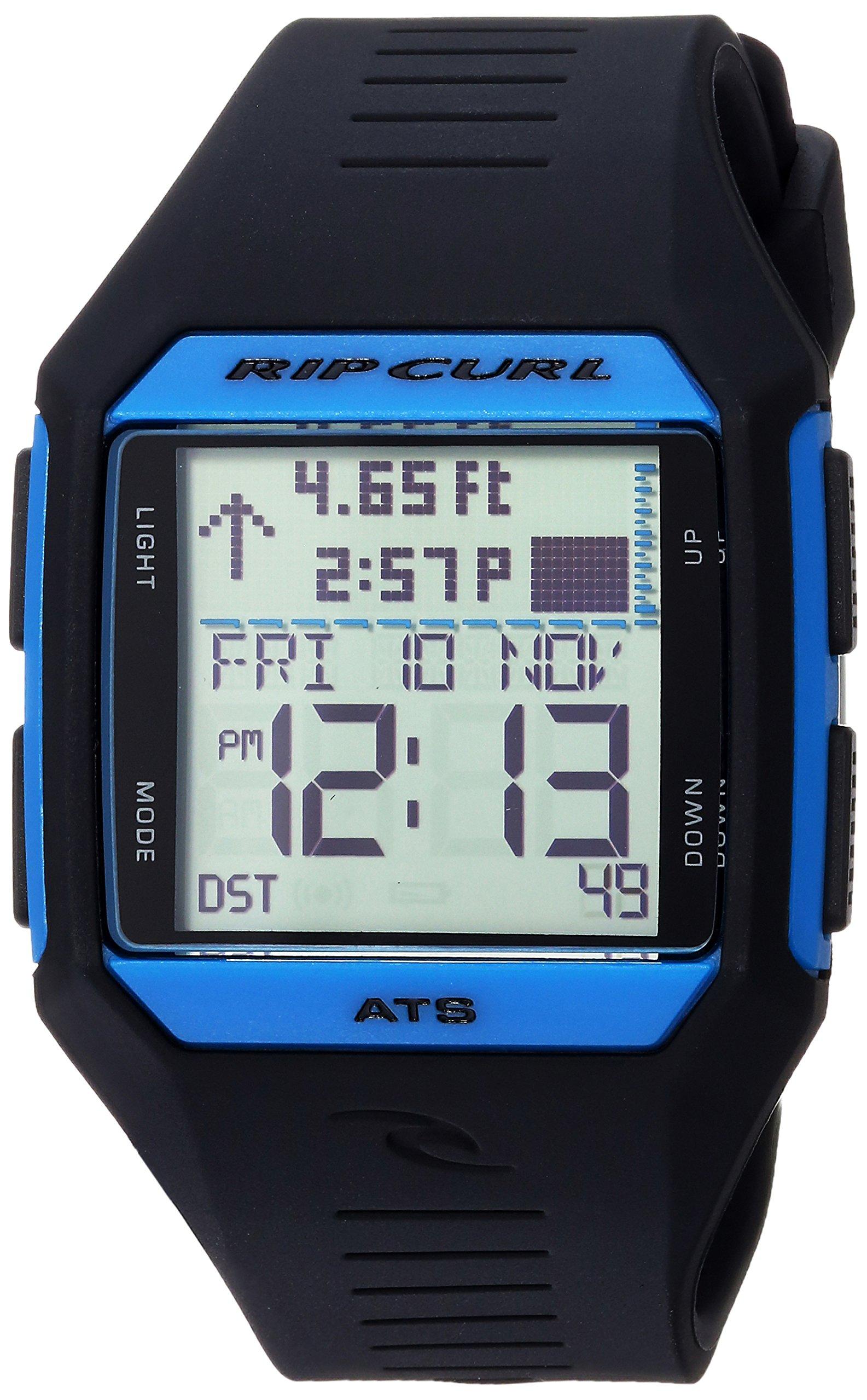 Rip Curl Men's Quartz Sport Watch with Polyurethane Strap, Black, 19 (Model: A1124BLB1SZ) by Rip Curl