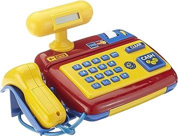 Theo Klein-9330 Caja Registradora Electrónica con Función De Scanner, Juguete, Multicolor (9330): Amazon.es: Juguetes y juegos
