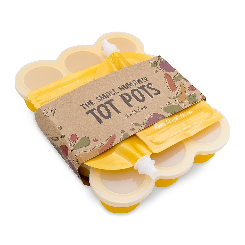 Babybrei Aufbewahrung, Silikon Babynahrung Einfrieren Behälter, Quetschies  EBook: Amazon.de: Baby