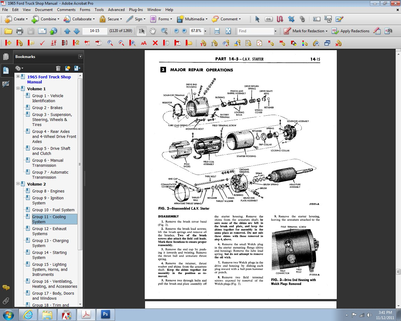 1965 Ford Truck Shop Manual: Ford Motor Company, David E. LeBlanc:  9781603710732: Amazon.com: Books