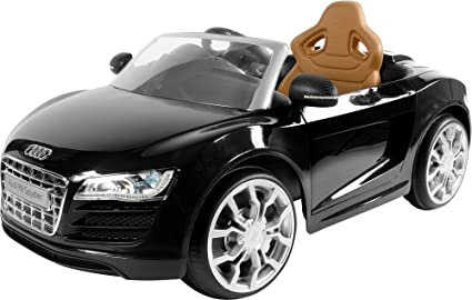 Amazon Com Rollplay Audi R8 Spyder 6 Volt Battery Powered Ride On
