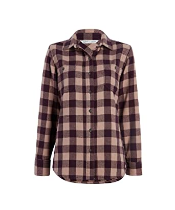 2a1e6224452 Woolrich Women s Buffalo Check Flannel Shirt at Amazon Women s ...