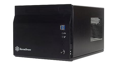 SilverStone SST-SG06BB-Lite - Carcasa de ordenador compacta cubo Sugo Mini-ITX, negro