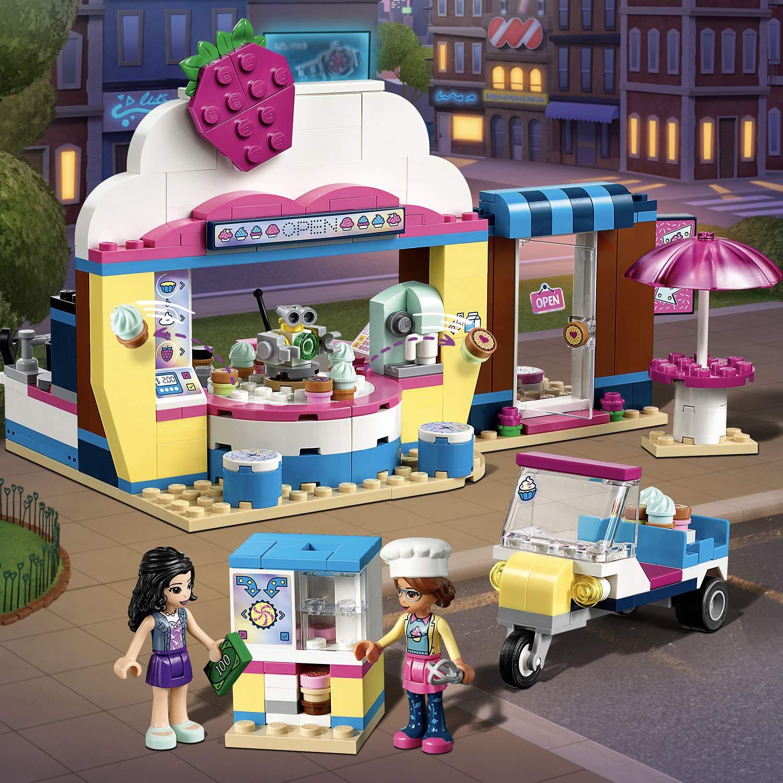 LEGO Friends - Cafetería cupcake de olivia juguete creativo de construcción con detalles para crear tu propia pastelería (41366): Amazon.es: Juguetes y ...