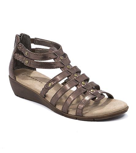 79595f28476 Wear.Ever. Fenma Women s Sandals   Flip Flops Bronze Size 5.5 M (WR11724