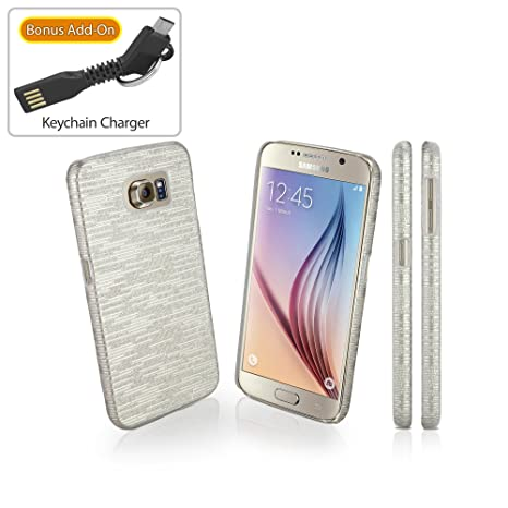 Galaxy S6 Caso, BoxWave® [Digital Glitz Funda con Bono ...
