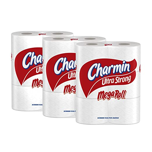 Charmin Ultra Strong, Mega Rolls, 6 Count Pack 18 Total Rolls [Amazon Frustration-Free Packaging] by Charmin: Amazon.es: Salud y cuidado personal