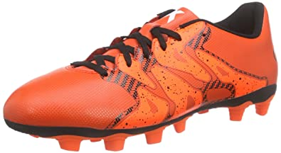 on sale 5c614 01c2f adidas Performance X15.4 FxG, Chaussures de Football Homme, Rouge-Rot (