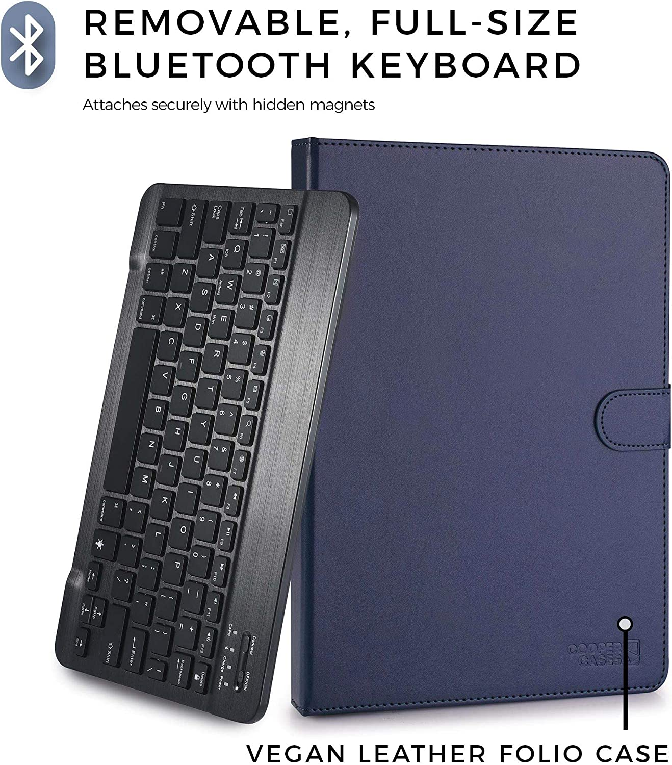 Amazon.com: Funda para tablet con teclado inalámbrico ...