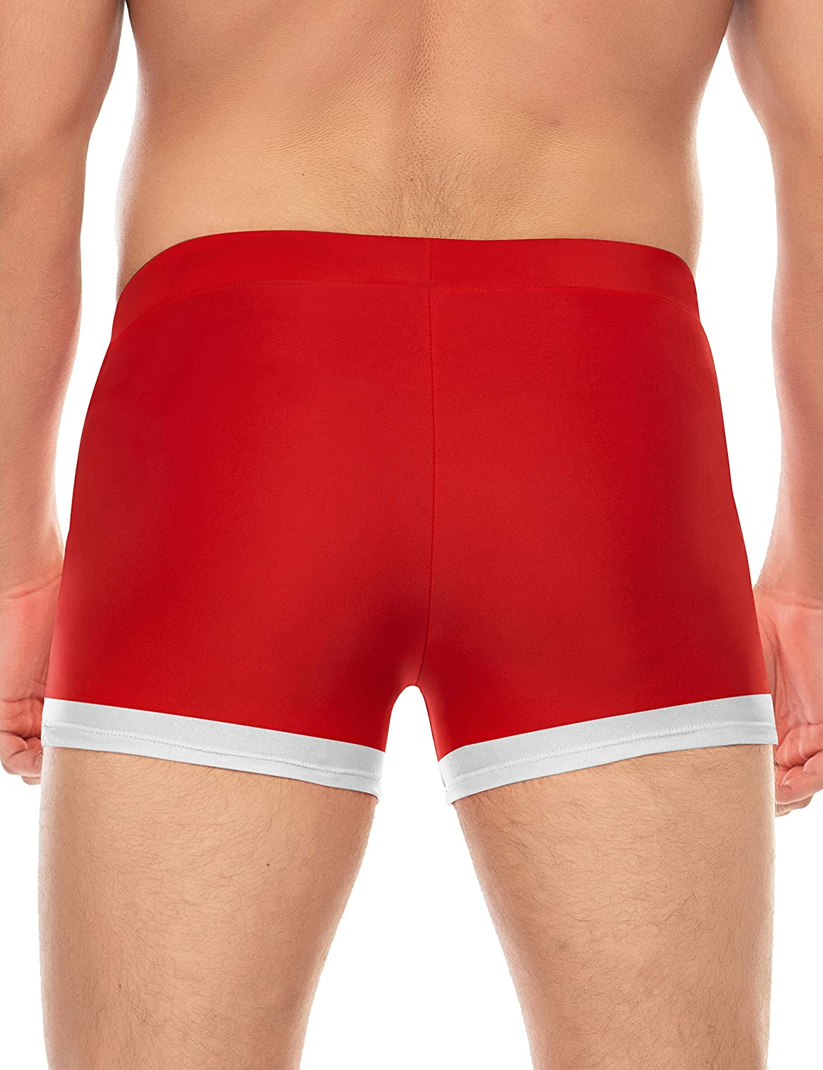 COOFANDY Mens Swim Trunk Swimwear Bathing Suit Board Short with Zipper Pocket