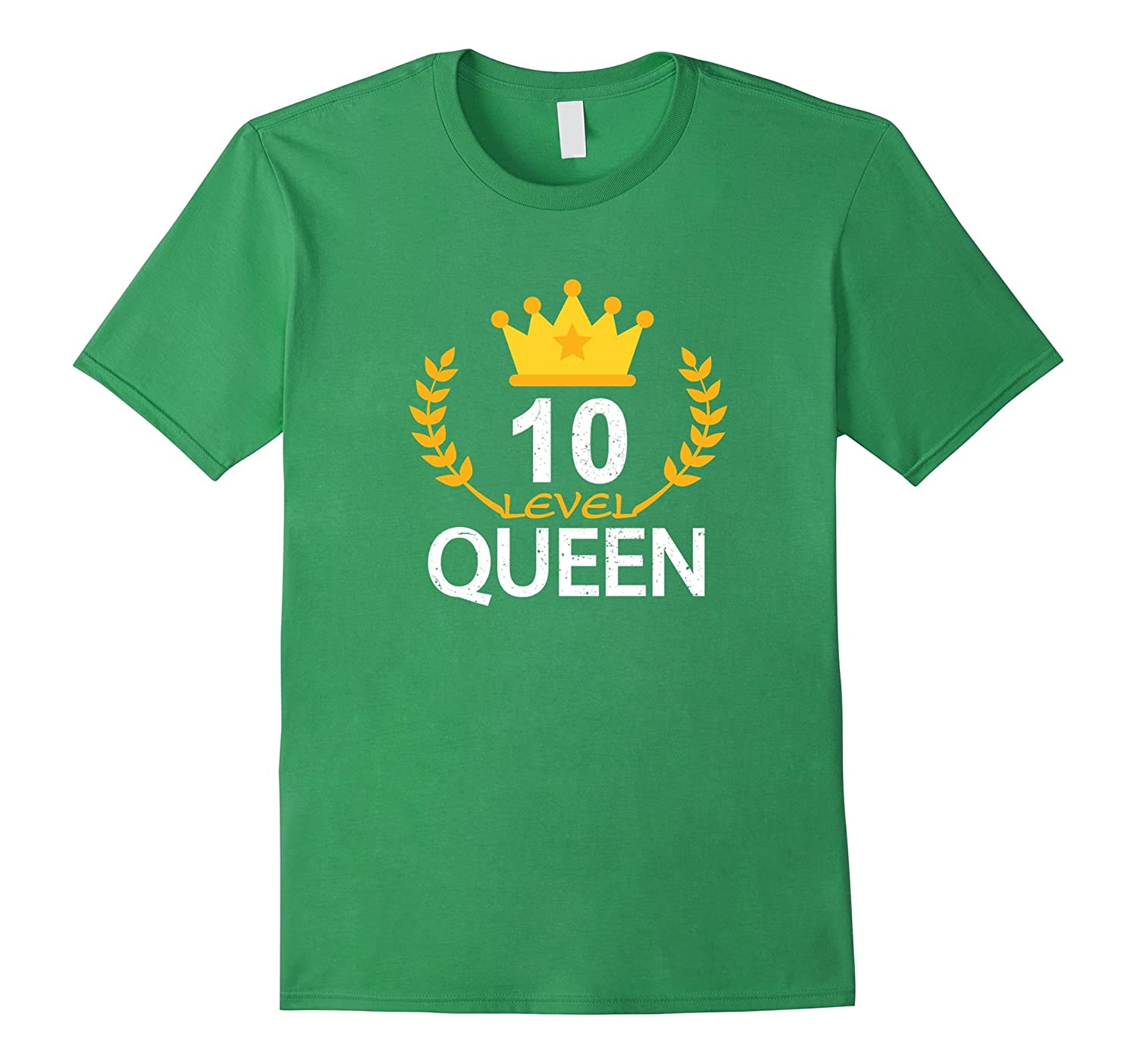 Funny 10th Birthday 2007 Gifts T-shirt Kid Queen Vintage Tee