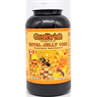 Qualitylab Royal Jelly 1000 mg 250 Capsules (Made in Canada)