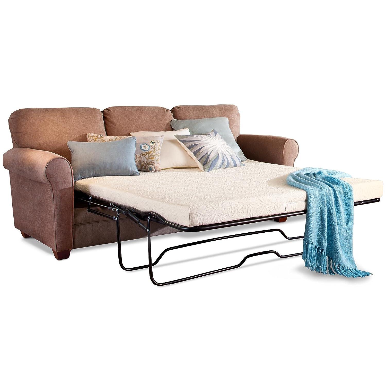 Amazon PlushBeds Gel Memory Foam Sofa Bed Mattress Twin