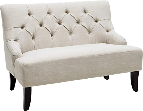 Christopher Knight Home Nicole Fabric Settee - the best living room sofa for the money