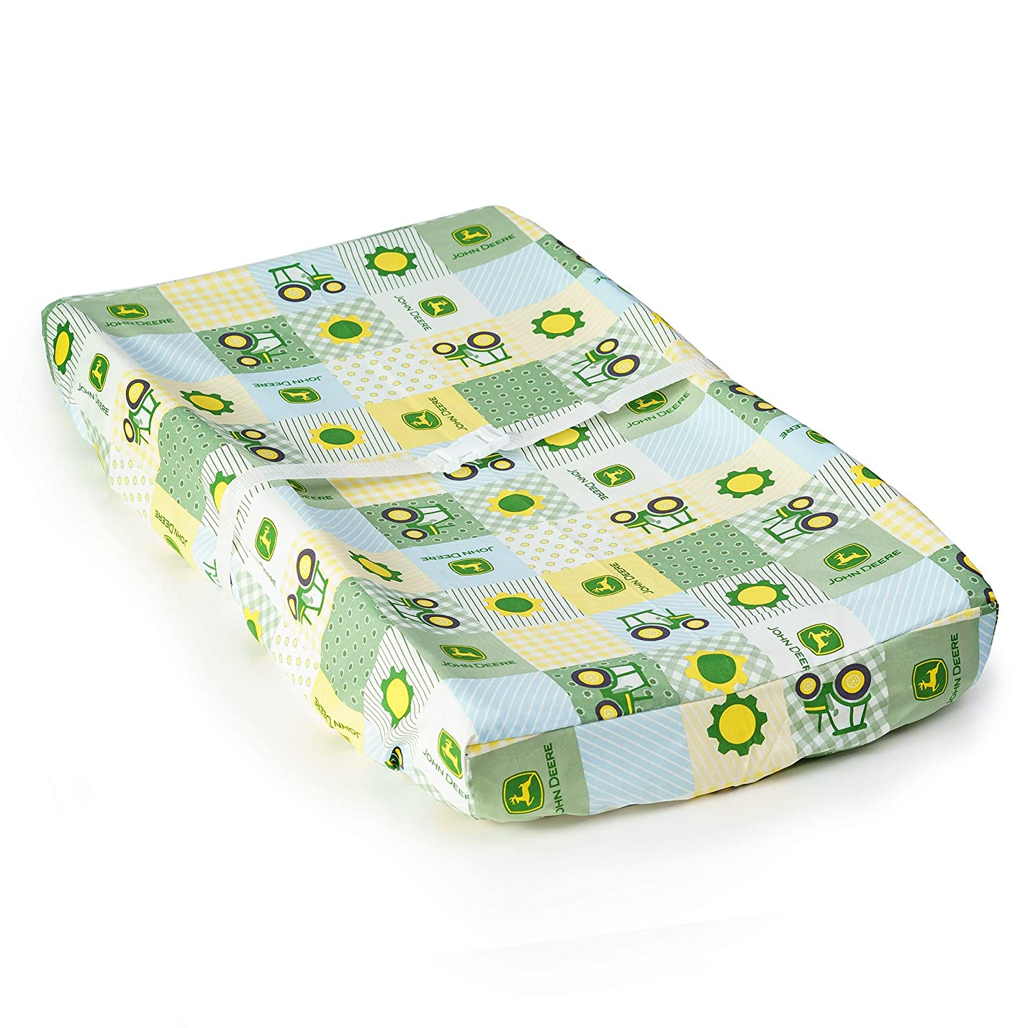 John Deere Tractor Changing Pad Cover Yellow