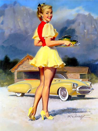 Tell more Vintage pin up girl pictures agree, useful