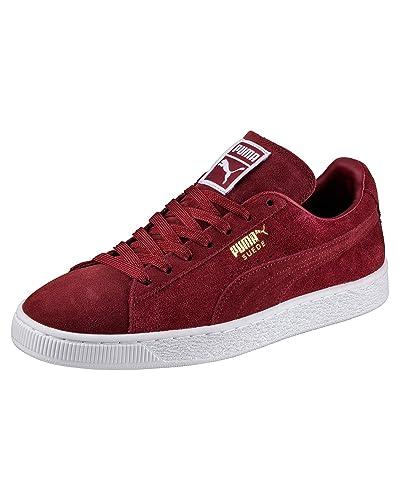 2e66d8d0240 Puma - Mens Basket Suede Classic Plus Bordeaux  Amazon.co.uk  Shoes ...
