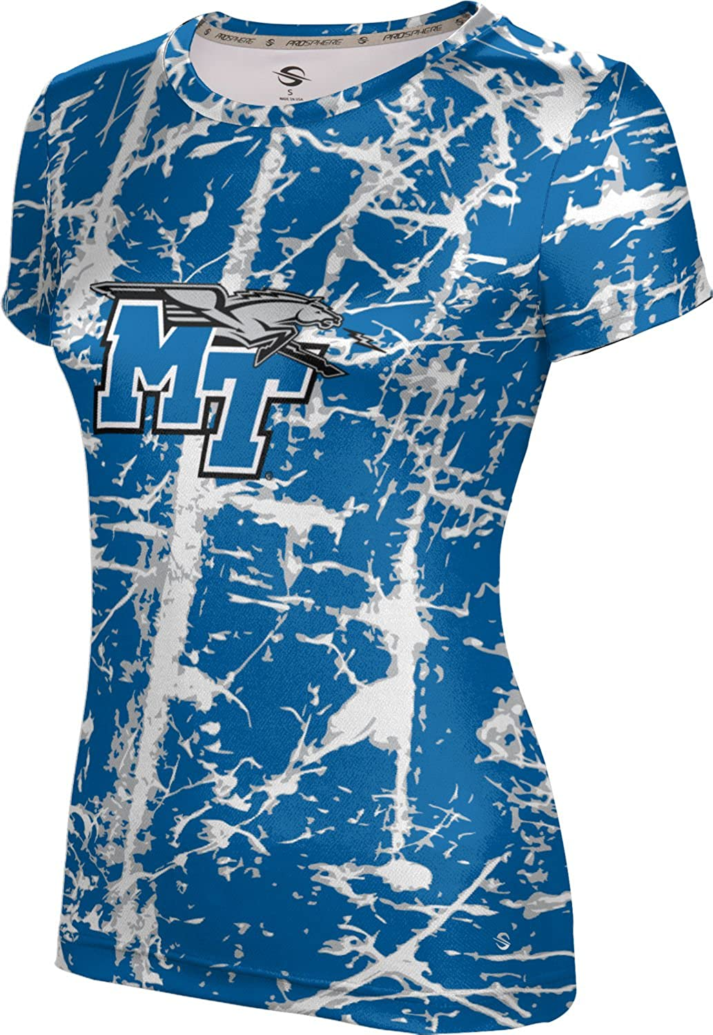 ProSphere Middle Tennessee State University Girls Performance T-Shirt Distressed