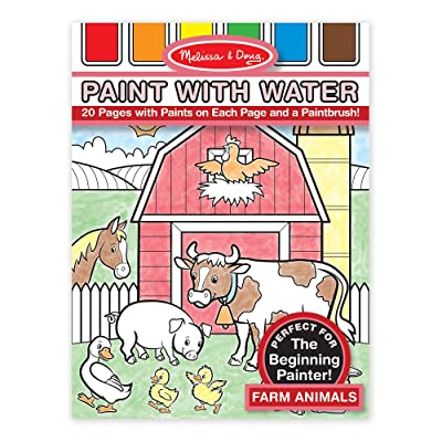 Melissa & Doug Paint with Water - Farm Animals: Melissa & Doug: Toys & Games