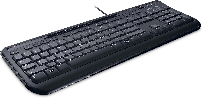 Microsoft Wired Kbrd 600 USB Port English Canada Hdwr Black(ANB-00002)