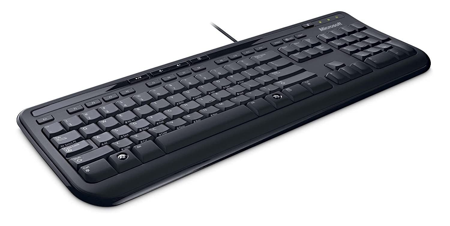a5d64222635 Microsoft Wired Keyboard 600 (English): Amazon.ca: Computers & Tablets