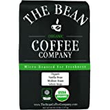 The Bean Coffee Company Organic Vanilla Bean, Medium Roast, Whole Bean, 5-Pound Bag