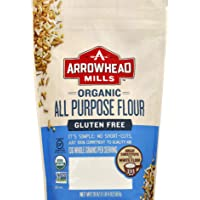 Arrowhead Mills Gluten Free All Purpose Flour, Organic, 20 Ounce Bag (Pack of 6)