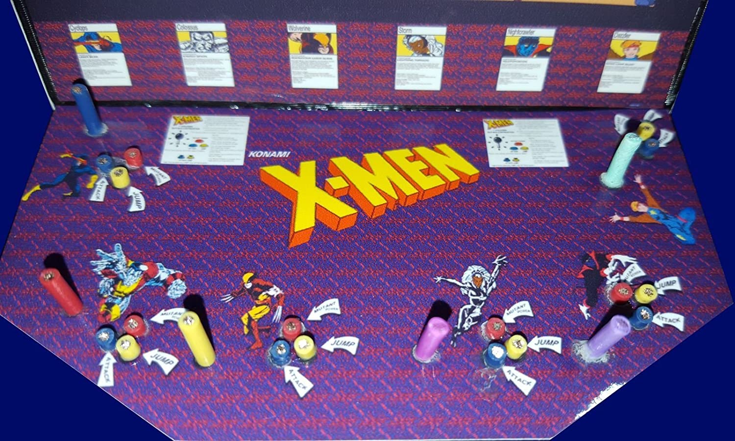 Amazon.com  Mini X-men 6 Player Arcade Cabinet Collectible Display  Everything Else  sc 1 st  Amazon.com & Amazon.com : Mini X-men 6 Player Arcade Cabinet Collectible Display ...
