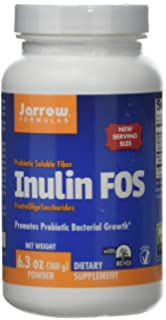Jarrow Inulin FOS Powder Vegan, 180g (Vegan, 180g)