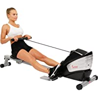 Sunny Health & Fitness Máquina de Remo Magnética con Función Doble Remadora c/Monitor LCD SF-RW5622 de