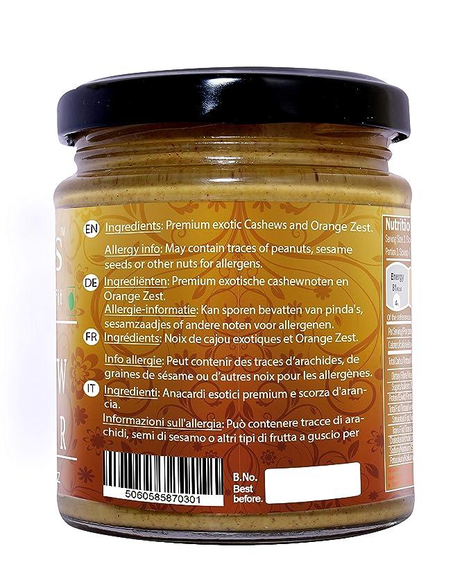 Mantequilla Anacardo Naranja Fitjars-200g℮: Amazon.es ...
