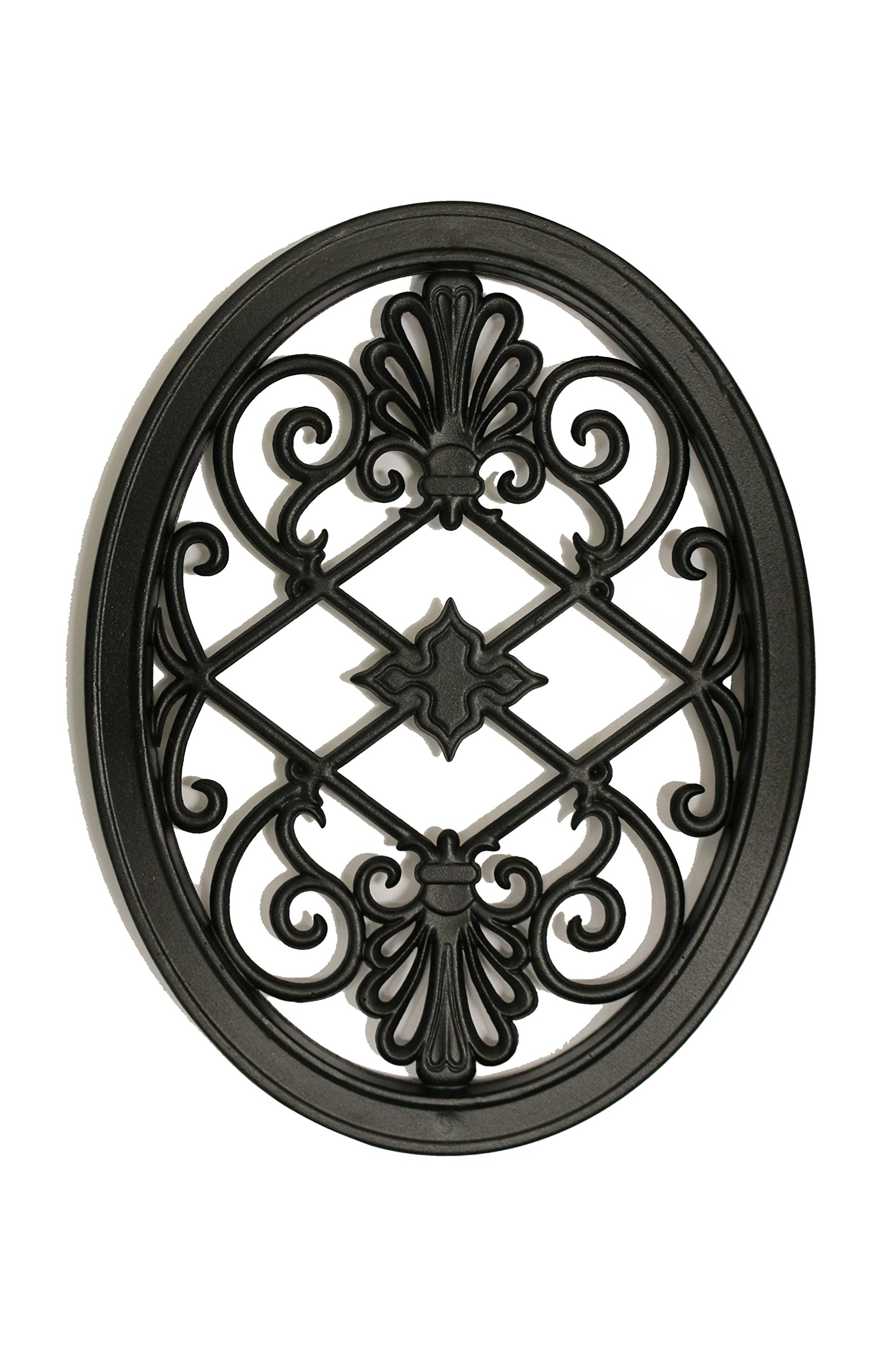 Nuvo Iron OVAL DECORATIVE GATE FENCE INSERT ACW56 Fencing,Fence,Gates,Home