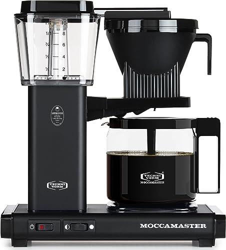 Technivorm Moccamaster 59656 KBG, 10-Cup Coffee Maker