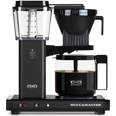 Technivorm Moccamaster 59656 KBG Coffee Brewer, 40 oz, Matte Black