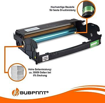 Bubprint Bildtrommel Kompatibel Für Lexmark E260x22g Für Optra E260 E260d E260dn E360 E360d E360dn E460 E460dn E460dw E462 E462dtn X264dn X363dn X364dn X463 X463de X464 X464de X466 X466de Bürobedarf Schreibwaren