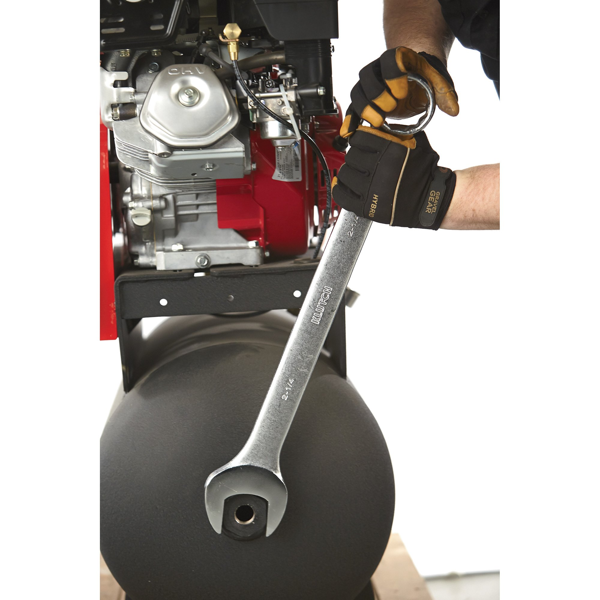 Klutch Super Jumbo SAE Combination Wrench Set - 4-Pc.