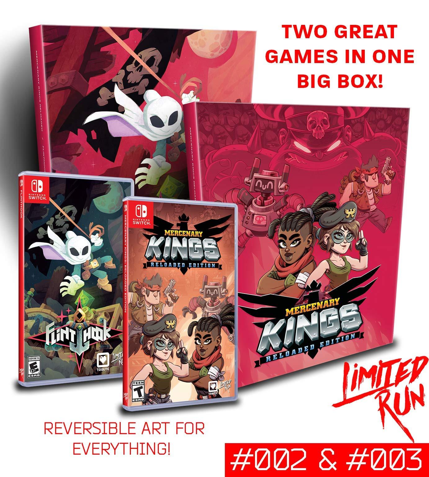 Amazon.com: Switch Limited Run #2 + #3: The Tribute Treasure ...