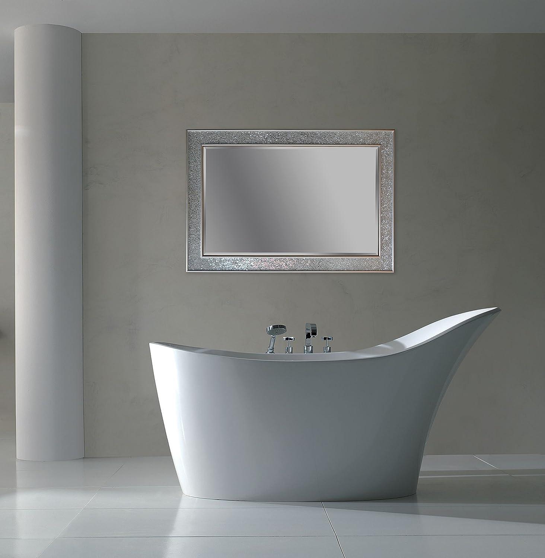 Specchio bagno 100x60 - Specchio adesivo per anta armadio ...