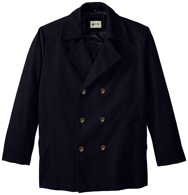 KingSize Men's Big & Tall Wool Peacoat at Amazon Men's Clothing store: