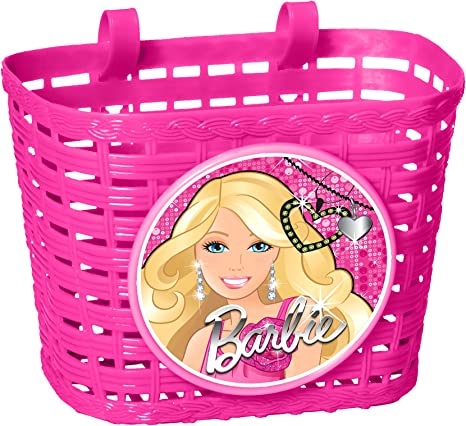 Stamp - Cesta para Bicicleta, diseño de Barbie: Amazon.es ...