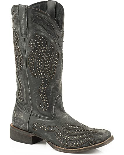 4f29ec0ccee Amazon.com : Roper Women's Stacie Western Boot Square Toe - 09-021 ...